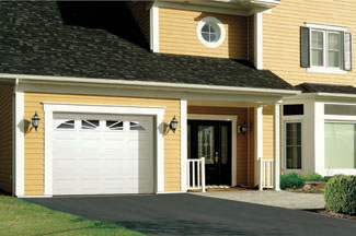 Garage door installation in Bloomington