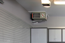 How can I keep my garage cool in the summer?