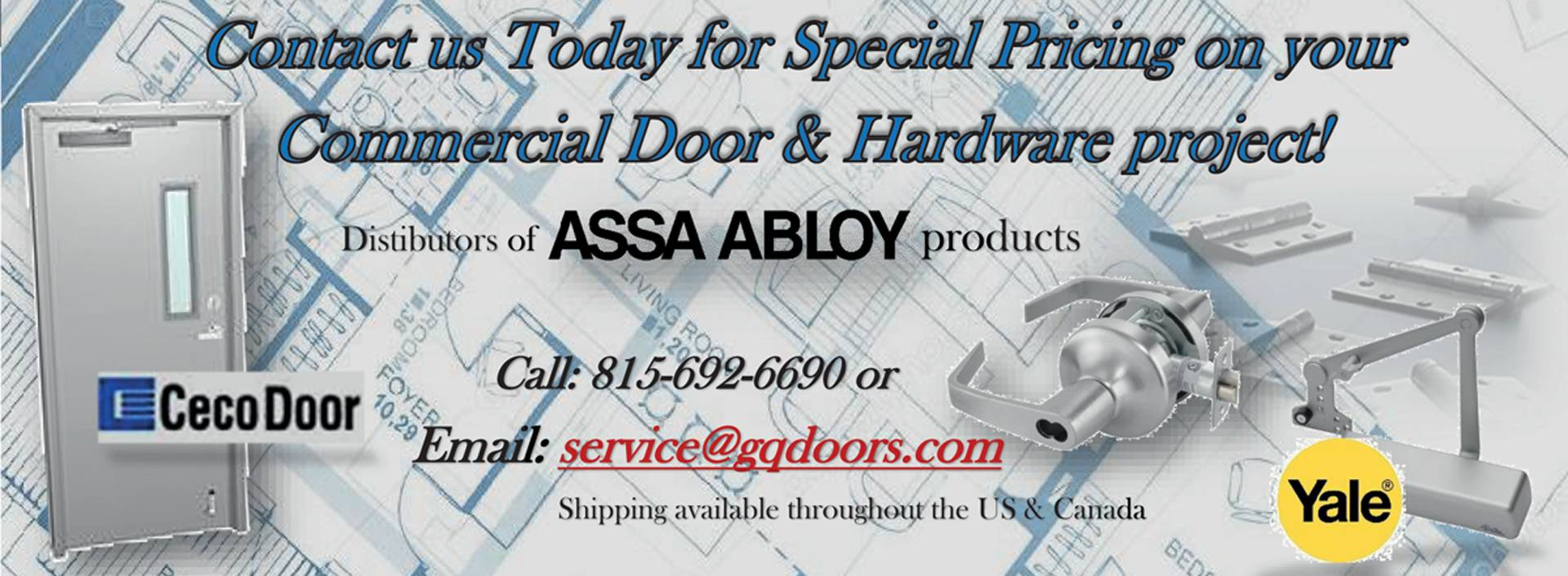 Commercial Door & Hardware project