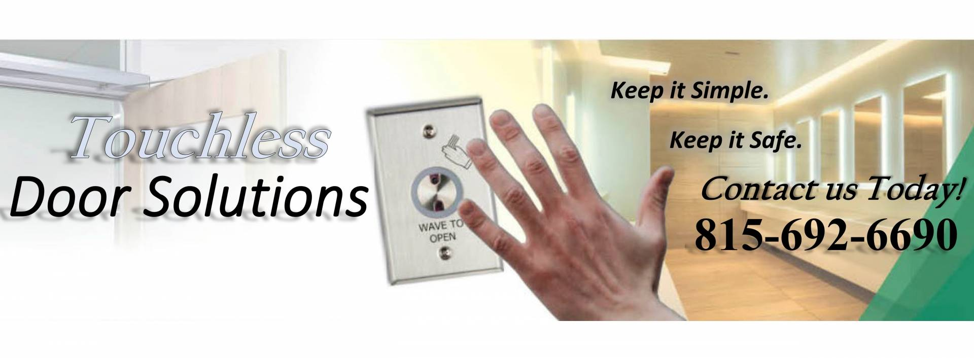 Touchless Door Solutions